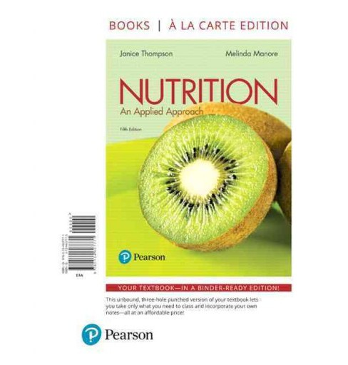 Nutrition : An Applied Approach (Paperback) (Janice Thompson & Ph.D. Melinda Manore) - image 1 of 1