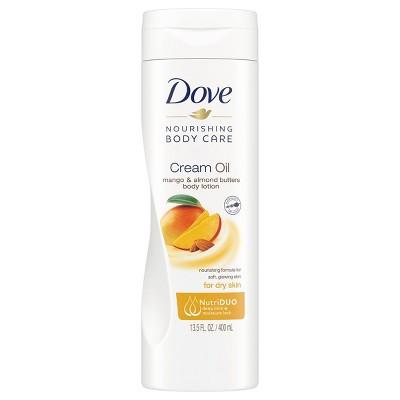 Dove Beauty Mango and Almond Butter Cream Oil - 13.5 fl oz
