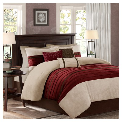 7pc Dakota Microsuede Comforter Set