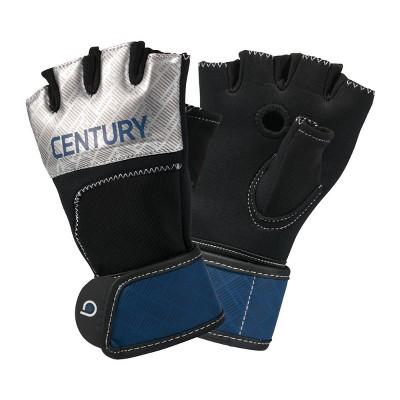 Century Martial Arts Men's Brave Gel Gloves L/XL - Silver/Navy