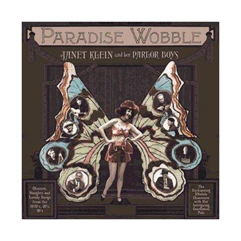 Janet Klein - Paradise Wobble (CD) - image 1 of 1