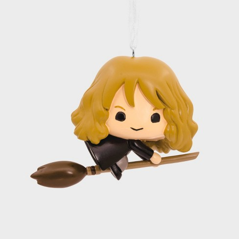Harry Potter Hermione Granger on Broom Christmas Ornament - image 1 of 3