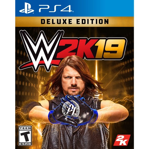 WWE 2K19: Deluxe Edition - PlayStation 4 - image 1 of 4