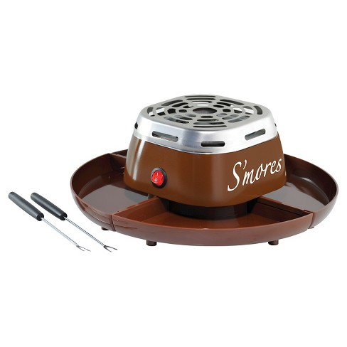 Nostalgia Electric S Mores Maker Java Brown Smm200