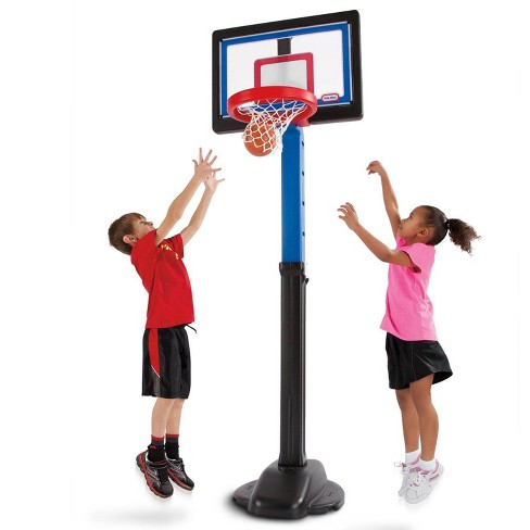 Little Tikes Indoor Outdoor Kids Play Toy Portable Basketball Hoop Set (2 Pack) - image 1 of 4