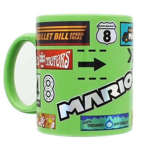 Just Funky Mario Kart 11oz Foil Print Decal Coffee Mug - image 1 of 3