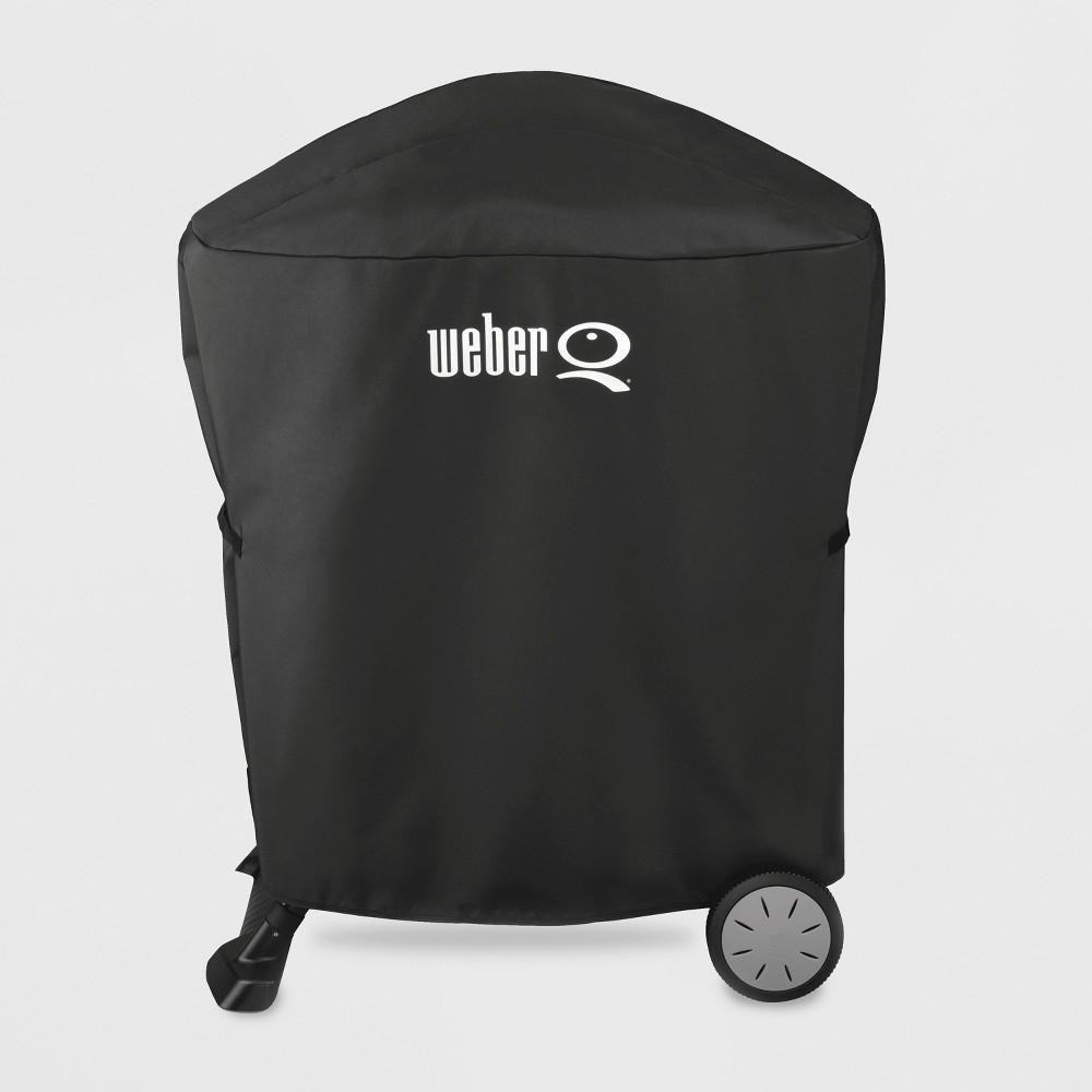 Weber Q100/1000, Q200/Q2000 Premium Grill Cover – Black 51829748