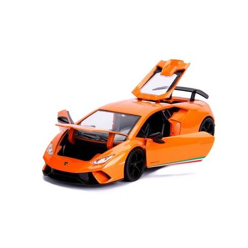 Jada Toys HyperSpec Lamborghini Huracan Performante Die-Cast Vehicle 1:24 Scale Orange - image 1 of 4