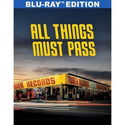 All Things Must Pass: The Rise and Fall of Tower Records (Blu-ray)(2016)