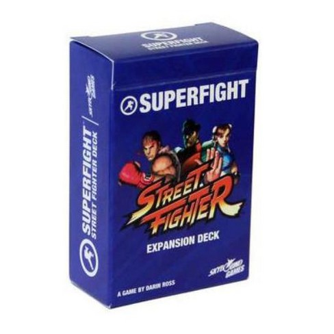 Streetfighter Deck, The Board Game - image 1 of 1