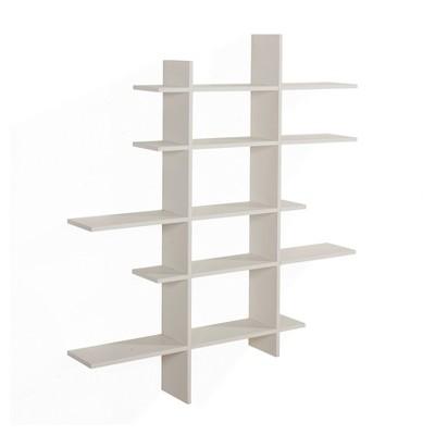 """51"""" x 45"""" Five Tier Asymmetric Shelf - Danya B."""
