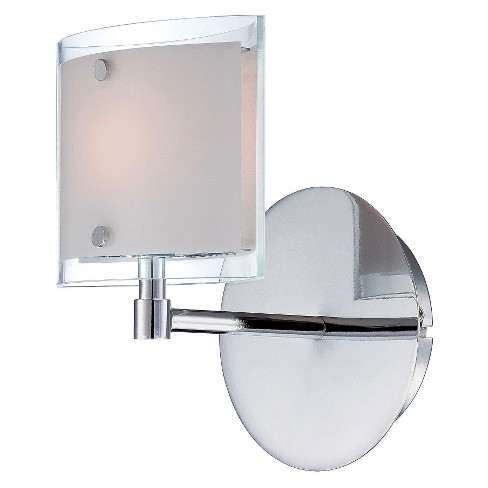 Lite Source Icety Wall Light - Silver - image 1 of 1