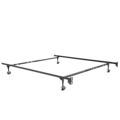 Atlas Standard Adjustable Metal Bed Frame - Jubilee Mattress - Twin/Full/Queen - image 1 of 4