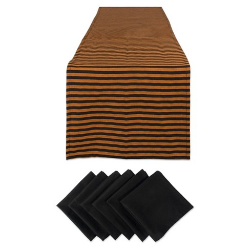 Witchy Stripe Table Set - Design Imports - image 1 of 4
