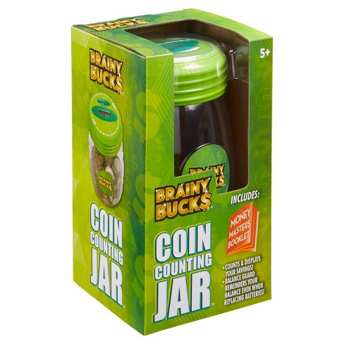 Brainy Bucks Coin Counting Jar - image 1 of 4