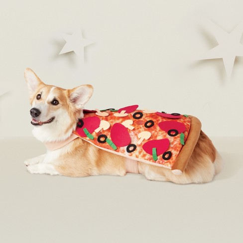 Pizza Dog Costume - Brown - Hyde and Eek! Boutique™ - image 1 of 3