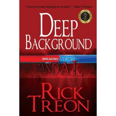 Deep Background - by  Rick Treon (Paperback) - image 1 of 1