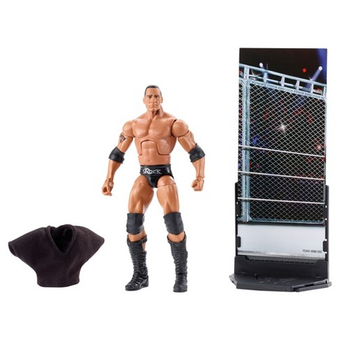 WWE Elite Collection Flashback - The Rock Action Figure - Series # 47B - image 1 of 5