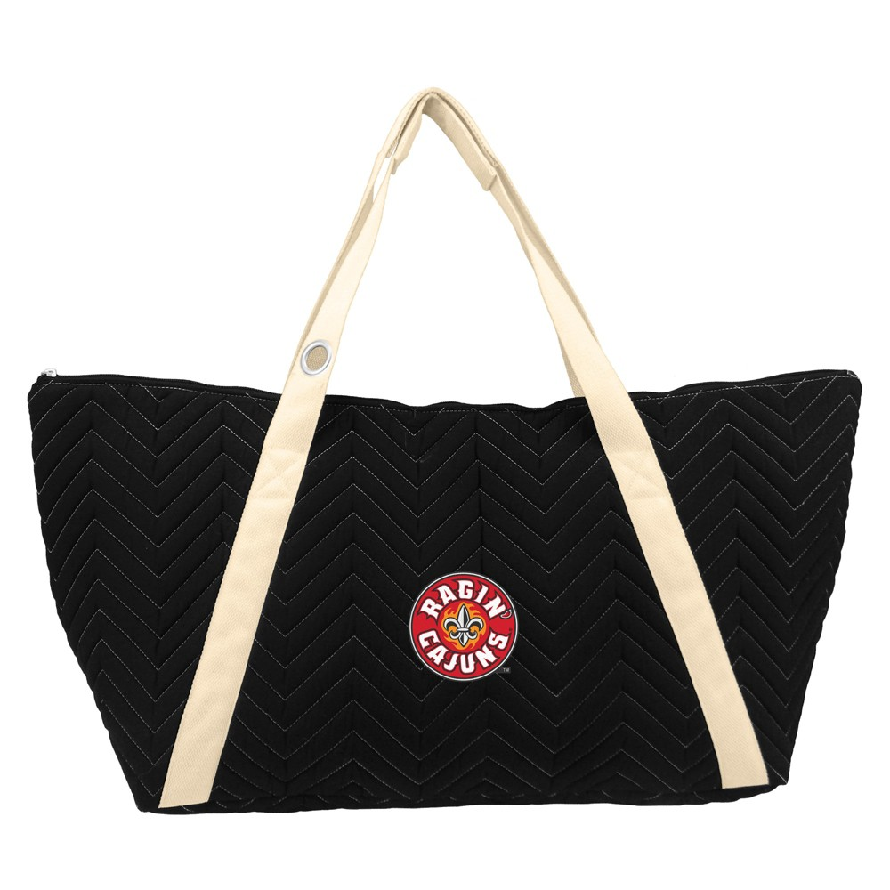 NCAA Louisiana Ragin' Cajuns Little Earth Chevron Stitch Weekender Bag