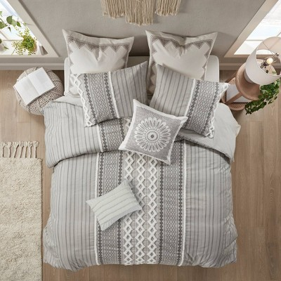 Imani Cotton Duvet Cover Set
