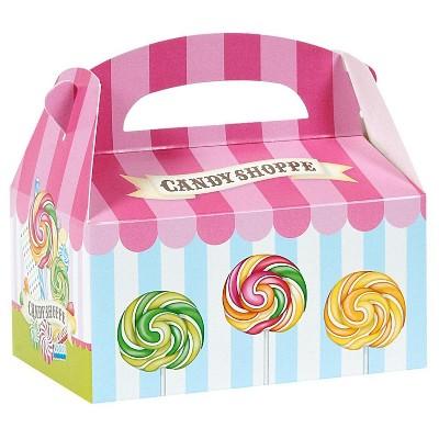 8 ct Candy Shoppe Favor Boxes