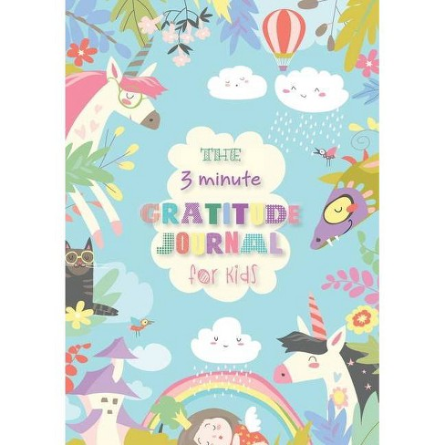 The 3 Minute Gratitude Journal for Kids - by  Blank Classic (Paperback) - image 1 of 1