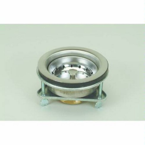 Proflo Pf646443 Kitchen Sink Drain Assembly And Basket Strainer Chrome
