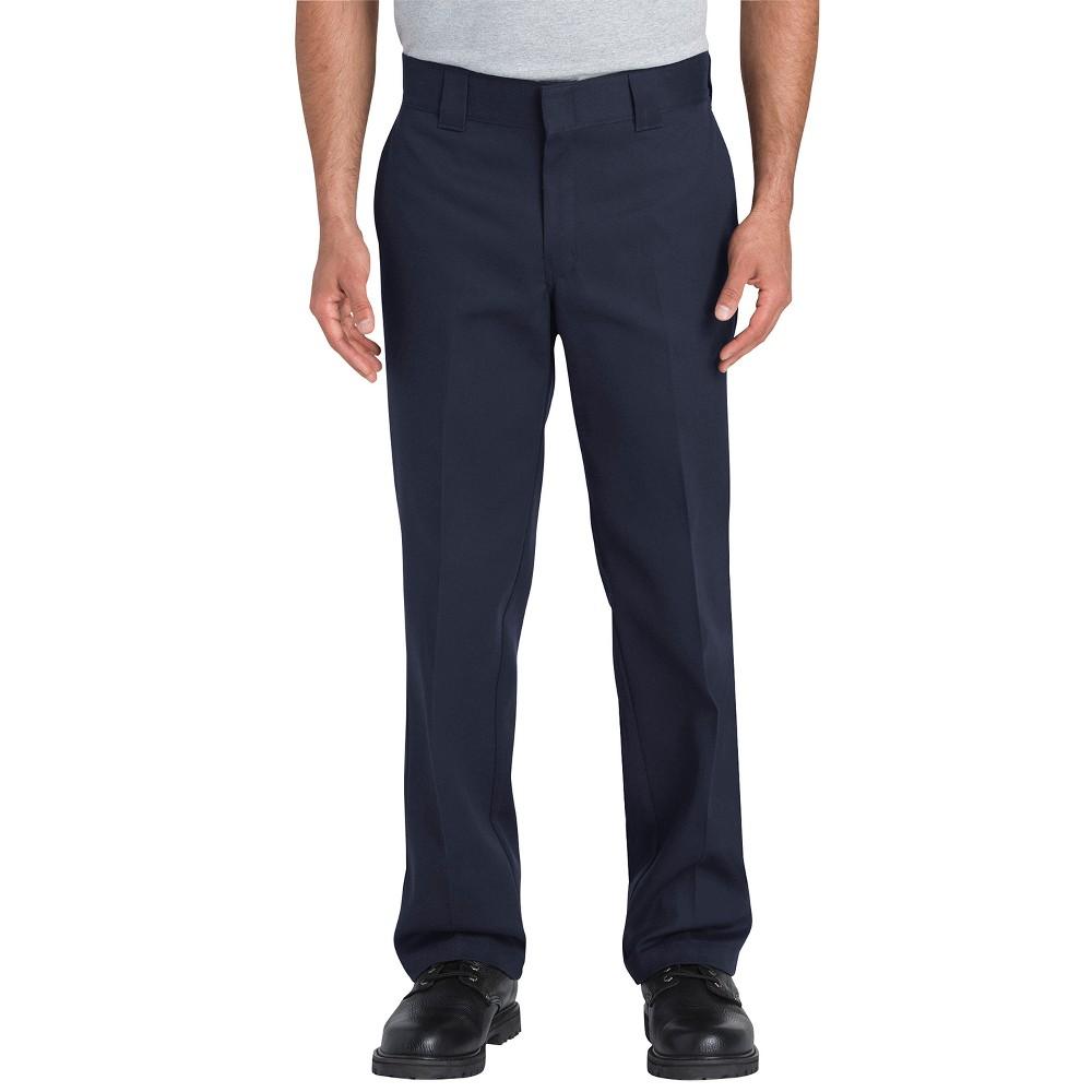 Dickies Men's Flex Slim Straight Fit Pants - Navy (Blue) 34x30