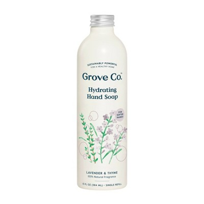 Grove Co. Hydrating Hand Soap - Lavender & Thyme - 13oz