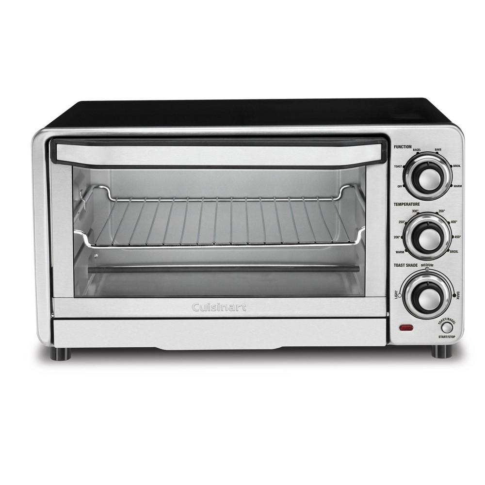 Cuisinart Custom Classic Toaster Oven Broiler Stainless Steel Tob 40n