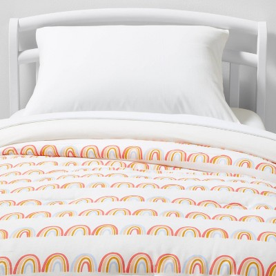 Rainbow Scallop Cotton Comforter Set - Pillowfort™