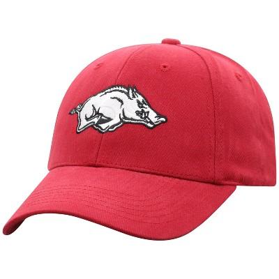 NCAA Arkansas Razorbacks Men's Structured Brushed Cotton Hat