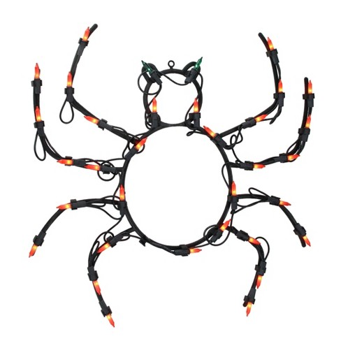 "Northlight 15"" Pre-lit Black Spider Halloween Window Silhouette Decoration - image 1 of 4"