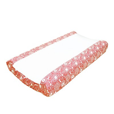 The Peanut Shell Changing Pad Cover - Mila