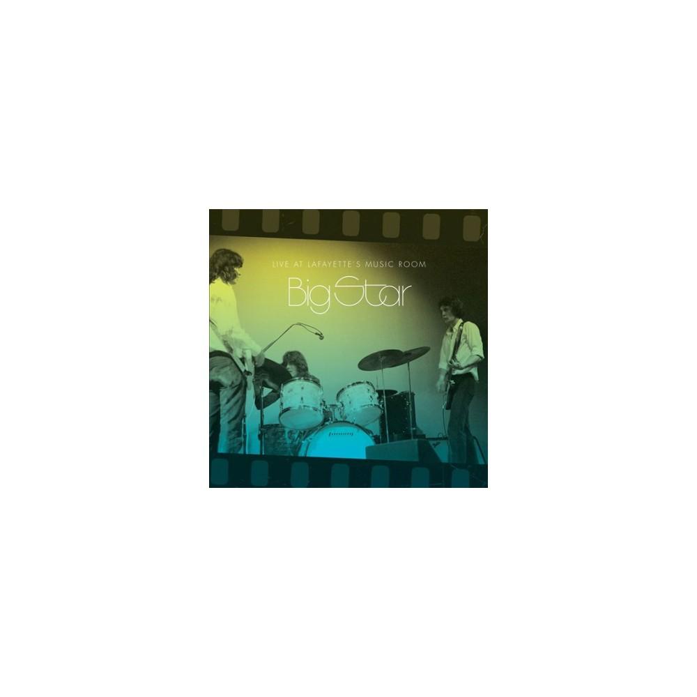 Big Star - Live At Lafayette's Music Room Memphi (Vinyl)