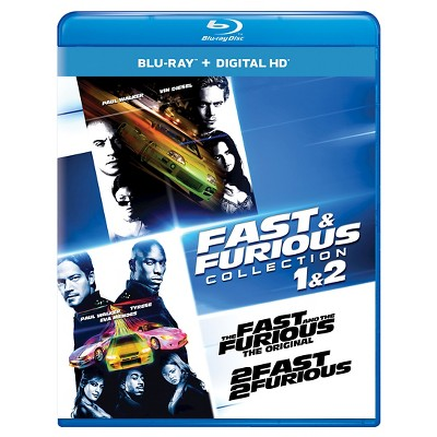 Fast & Furious Collection: 1 & 2 (Blu-ray)
