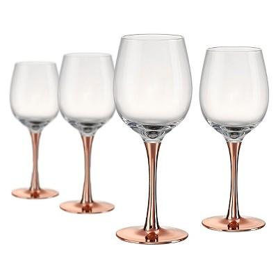 Artland 14oz 4pk Coppertino Red Wine Glasses