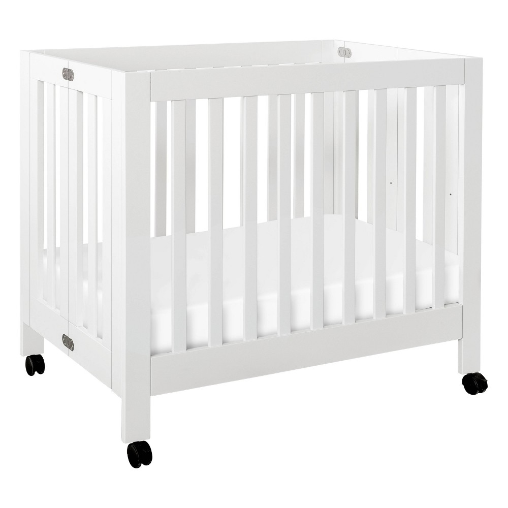 Image of Babyletto Origami Mini Crib - White