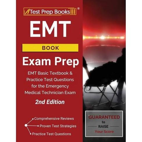 EMT Book Exam Prep - by  Test Prep Books (Paperback) - image 1 of 1