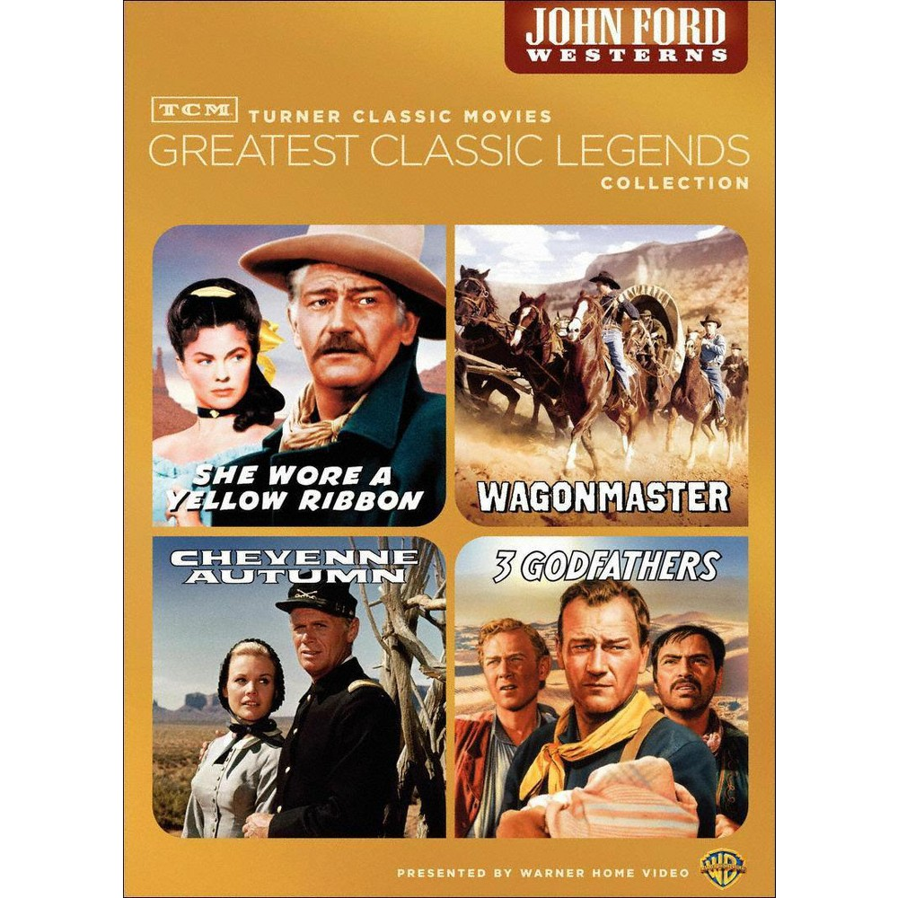 Tcm greatest films:John ford westerns (Dvd)