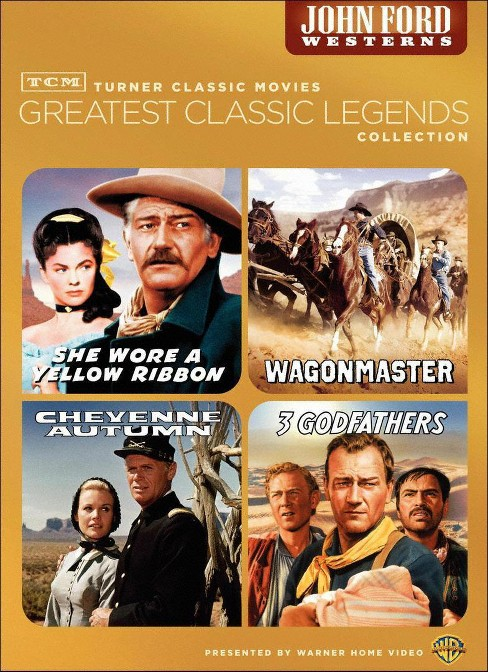 Tcm greatest films:John ford westerns (DVD) - image 1 of 1