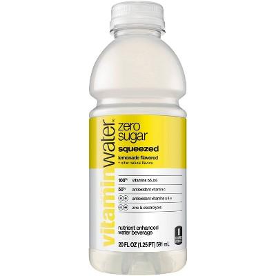 vitaminwater zero squeezed lemonade - 20 fl oz Bottle