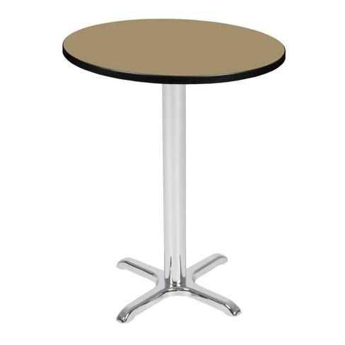 "30"" Via Cafe High Round X-Base Table - Regency - image 1 of 3"