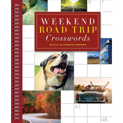 Weekend Road Trip Crosswords -  (Sunday Crosswords) by Stanley Newman (Paperback) - image 1 of 1