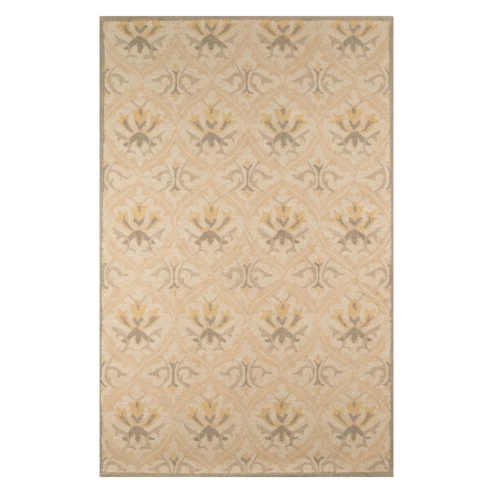 8'X10' Floral Tufted Area Rug Beige - Momeni