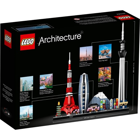 LEGO Architecture Skylines: Tokyo Collectible Architecture Building Set 21051 image number null