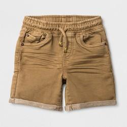Toddler Boys' Pull-On Jean Shorts - Cat & Jack™ Khaki