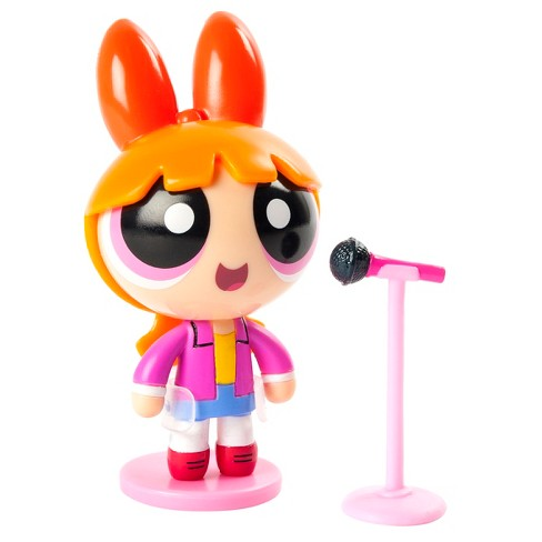 "The Powerpuff Girls 2"" Action Doll with Stand Blossom with Microphone by Spin Master - image 1 of 2"
