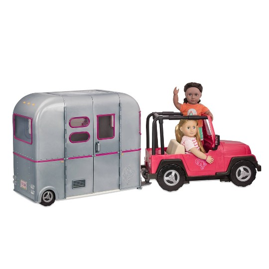 Our Generation RV Seeing You Camper image number null