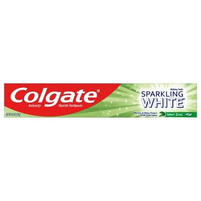 Toothpaste: Colgate Sparkling White